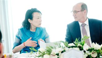 欧盟中国商会成功举办与欧盟副议长面对面交流活动