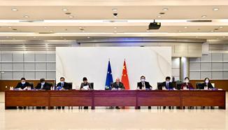 科技部部长王志刚与欧盟创新委员加布里埃尔举行中欧科技创新高层对话
