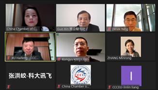 欧盟中国商会数字经济工作组线上讨论欧盟政策