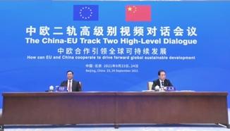 中欧二轨高级别视频对话会议召开 欧盟中国商会会长徐海峰发表讲话